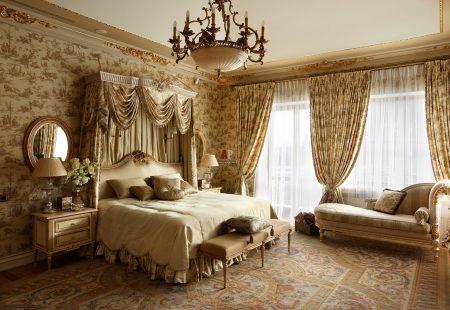 Женская спальня в английском стиле