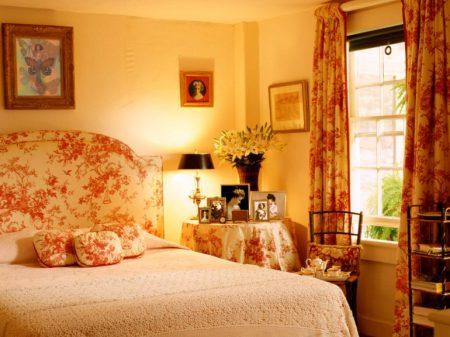 Спальня в английском стиле с фотографиями